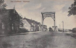 Ansichtkaart Aalsmeer Van Cleefkade HC5188