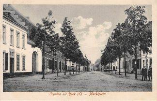 Ansichtkaart Beek (LB) Groeten uit Marktplein HC5189