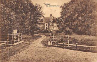 Ansichtkaart Vaassen de Cannenburgh Kasteel 1918 HC5195