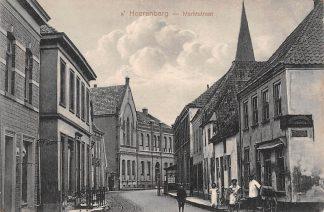 Ansichtkaart 's-Heerenberg Marktstraat 1920 HC5205
