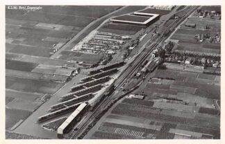 Ansichtkaart Grootebroek Veiling vereniging De Tuinbouw KLM Luchtfoto Bij Enkhuizen HC5224