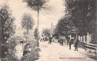 Ansichtkaart Veenwouden Buurt Veenwoudsterwal 1919 HC5235