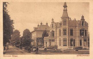 Ansichtkaart Apeldoorn Deventer Straat 1918 HC5238