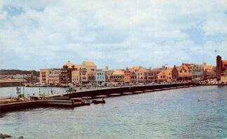 Ansichtkaart Curacao Pontoon Bridge Nederlandse Antillen Noord-Amerika HC5246