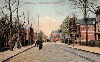 Ansichtkaart Watergraafsmeer Middenweg Tram Amsterdam HC5279
