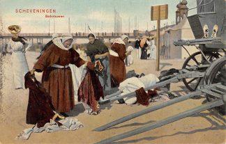 Ansichtkaart Scheveningen Badvrouwen Strand Pier 1907 HC5281
