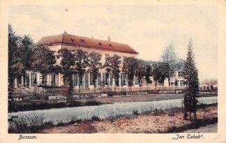 Ansichtkaart Bussum Hotel Pension Restaurant Jan Tabak 1928 HC5286