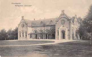 Ansichtkaart Haastrecht Sportgebouw Concordia 1917 HC5291