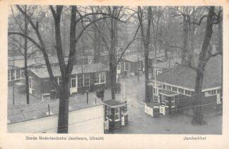 Ansichtkaart Utrecht Derde Nederlandsche Jaarbeurs Janskerkhof Militair verzonden 1919 HC5293