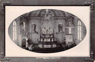 Ansichtkaart Kockengen R.C. Kerk van Binnen 1914 HC5297
