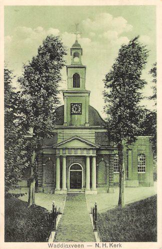 Ansichtkaart Waddinxveen N.H. Kerk HC5302