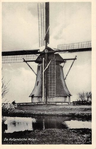Ansichtkaart Sintjohannesga De Hollandsche Molen Molens HC5305