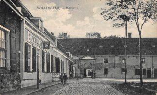Ansichtkaart Willemstad Kazerne Cafe Billard Militair HC5323