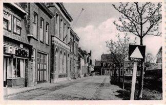 Ansichtkaart Willemstad Postkantoor en School HC5325