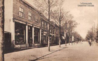 Ansichtkaart 's-Gravenzande Langestraat Zuidzijde 1927 HC5327