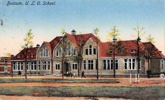 Ansichtkaart Bussum U.L.O. School 1924 HC5332