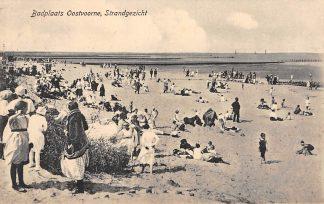 Ansichtkaart Oostvoorne Badplaats Strand gezicht 1922 HC5338