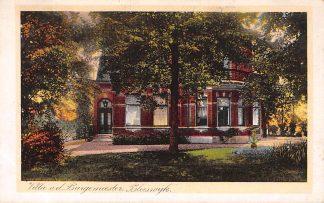 Ansichtkaart Bleiswijk Villa van de Burgemeester 1922 HC5365