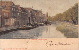 Ansichtkaart Alkmaar Luttik Oudorp 1906 Schepen Scheepvaart HC5380