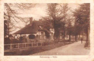 Ansichtkaart Wijhe Stationsweg 1920 HC5381