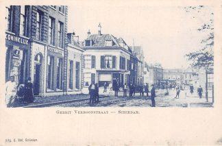 Ansichtkaart Schiedam Koninklijk Postkantoor Gerrit Verboonstraat HC5384