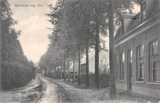 Ansichtkaart Riel Goirlesche weg 1919 Tramspoor Bij Tilburg HC5390