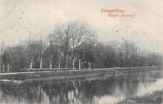 Ansichtkaart Schagerbrug Huize Vrijburg 1906 Schagen HC5402
