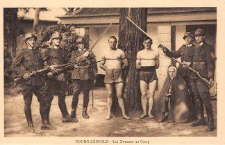 Ansichtkaart Beverloo Militair Kamp Les Zwanzes au Camp Bourg-Leopold Leopoldsburg Soldaten Belgie HC5420