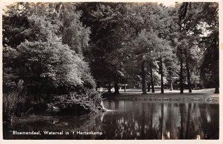 Ansichtkaart Bloemendaal bij Haarlem Waterval in 't Hertenkamp HC5443