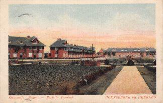 Ansichtkaart Hoensbroek bij Heerlen Staatsmijn Emma Park in Treebeek Mijnen 1921 HC5449