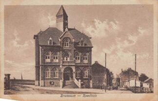 Ansichtkaart Brunssum Raadhuis 1921 HC5462