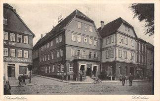Ansichtkaart Schmalkalden Lutherhaus Duitsland Deutschland HC5465
