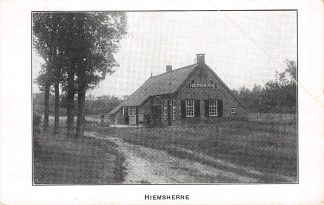 Ansichtkaart Hiemsherne Boerderij bij Steenwijk HC5481