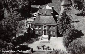 Ansichtkaart Loenen (UT) aan de Vecht Huize Vredenhoff 1959 KLM Luchtfoto no. 17684 HC5483