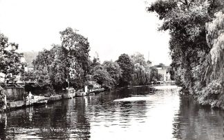 Ansichtkaart Loenen (UT) aan de Vecht Vechtgezicht Molen 1962 HC5486