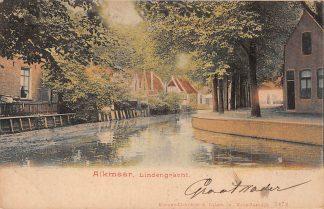 Ansichtkaart Alkmaar Lindengracht 1906 HC5493