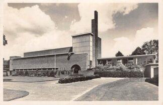 Ansichtkaart Hilversum Modern School gebouw Architect Dudok 1946 HC5494