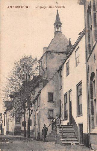 Ansichtkaart Amersfoort Latijntje Muurhuizen 1919 HC5507