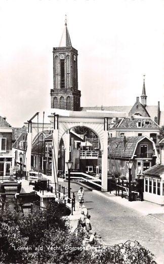 Ansichtkaart Loenen (UT) aan de Vecht Dorpsgezicht 1962 HC5512