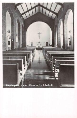 Ansichtkaart Heythuysen Kapel Klooster St. Elisabeth 1952 HC5516