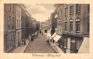 Ansichtkaart 's-Hertogenbosch Vuchterstraat met tram HC5522