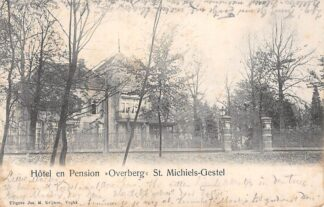Ansichtkaart Sint-Michielsgestel Hotel en Pension Overberg 1908 HC5528