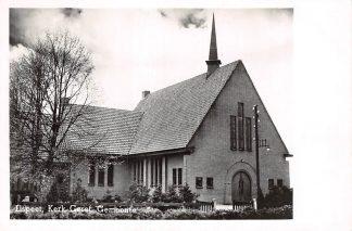 Ansichtkaart Elspeet Kerk Gereformeerde Gemeente 1952 HC5548