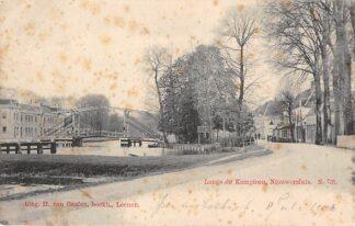 Ansichtkaart Nieuwersluis Langs de Kampioen Laag nummer Nauta N. 725 HC5559