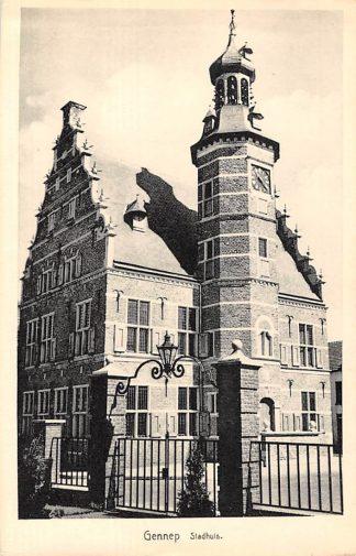 Ansichtkaart Gennep Stadhuis HC5584