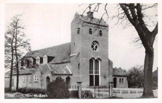 Ansichtkaart Zuidhorn Gereformeerde Kerk 1952 HC5618