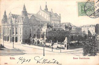 Ansichtkaart Berlin Neues Stadttheater 1903 Duitsland Deutschland HC5629