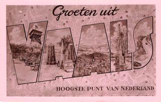Ansichtkaart Vaals Groeten uit Hoogste punt van Nederland HC5652
