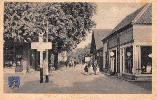 Ansichtkaart Nunspeet Erperweg met SHELL benzinepomp 1952 HC5676