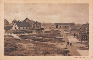 Ansichtkaart Bergen (NH) aan Zee 1920 Hotel Pension Stroomer HC5681